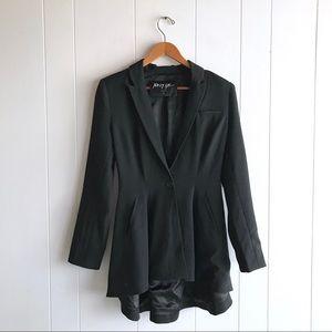Nasty Gal Black Blazer/High-low Dress